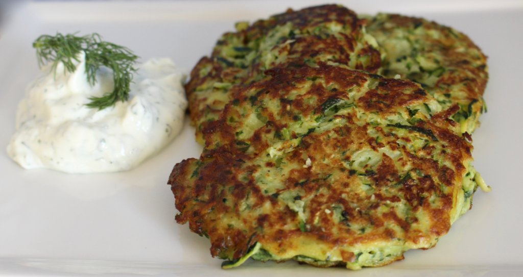 Find A New Habit and Stick to it with Zucchini Pancakes on the Side