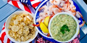 Icy Spiced Shrimp and Guacamole Bucket – Sharing a Memory and a Summer Recipe