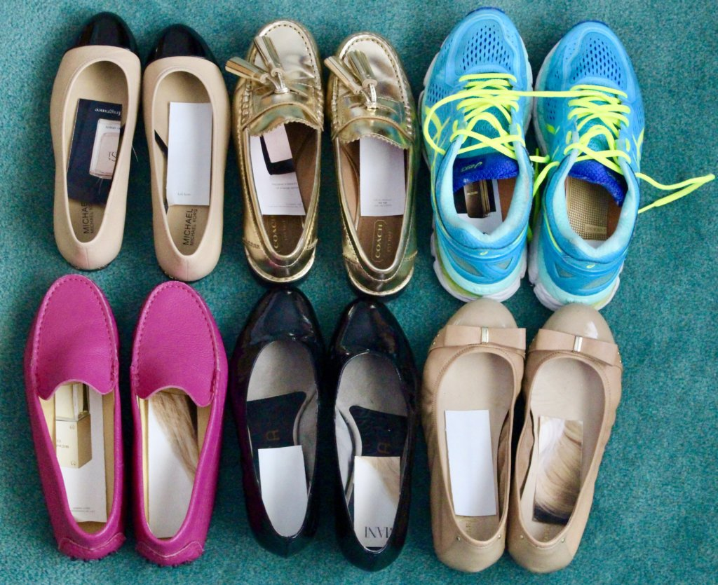 Fragrance Samples in Your Shoes–Environmentally Conscious, Sustainable and Just Genius