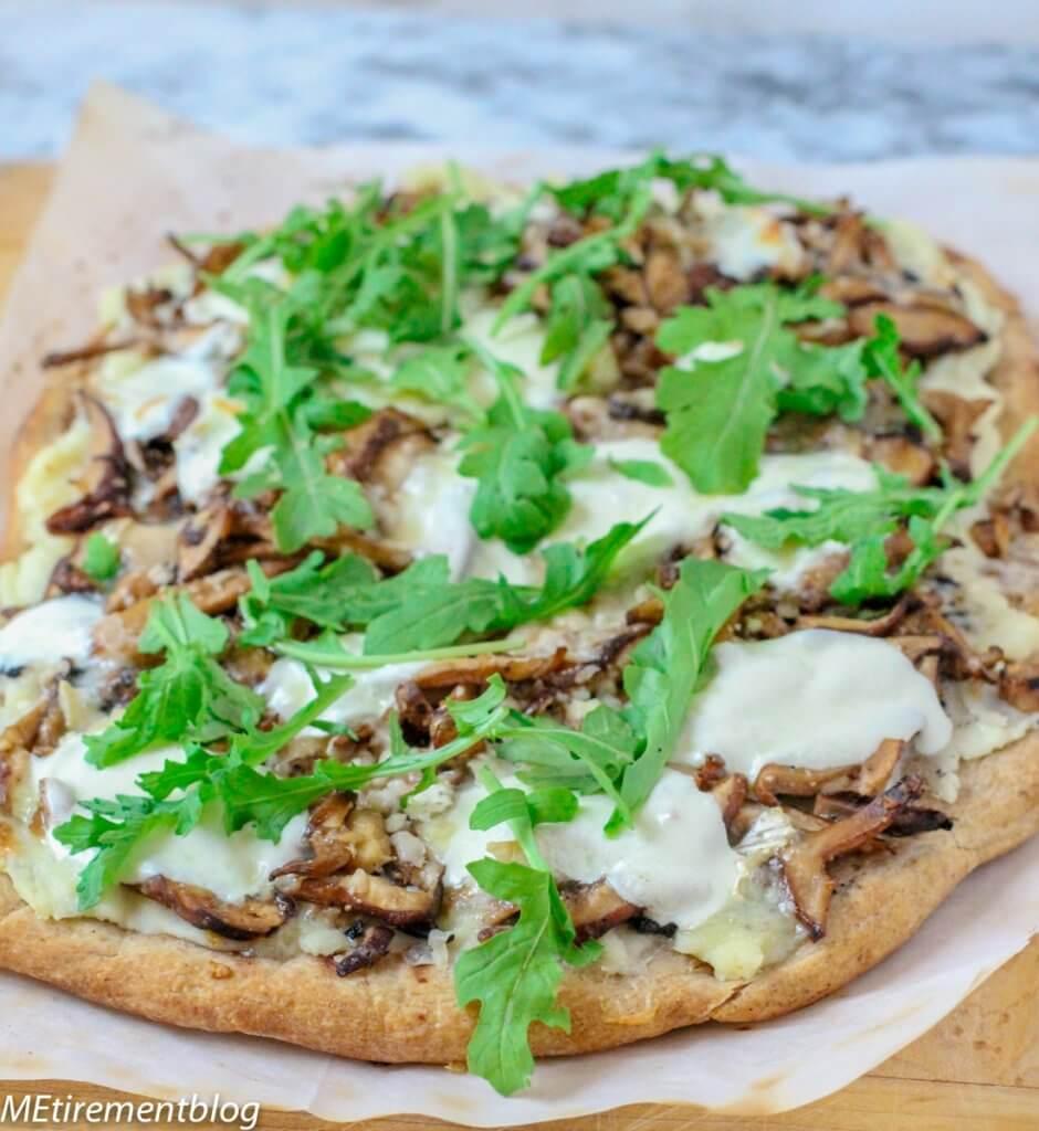 Wild Mushroom Truffle Pizza